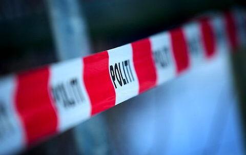 Ung mand kørte sig i aftes ihjel ved Kalundborg. Foto: Peter Clausen