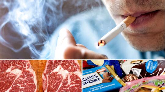I følge den norske undersøgelse forkorter rygning din levetid med 3,5 år.