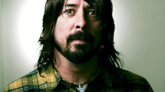 Dave Grohl, forsanger i Foo Fighters, lige efter research af prinsesse Märtha Louise.