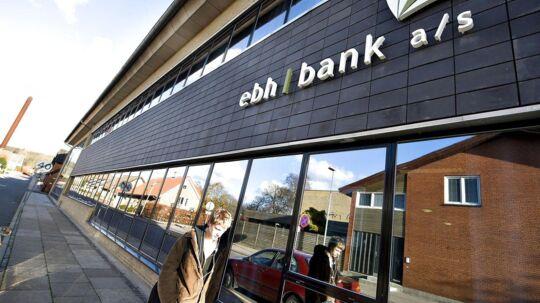 ebh bank a/s krakkede den 21. november 2008.