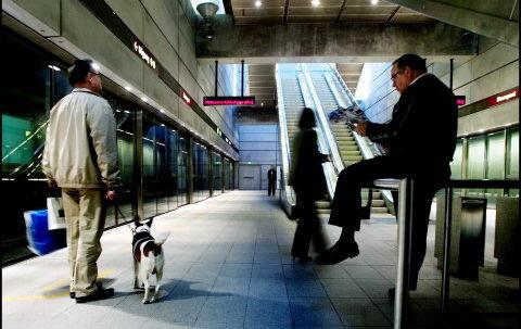 Den nye metro skal med 17 underjordiske stationer forbinde Københavns centrum med Østerbro, Nørrebro, Frederiksberg og Vesterbro. Foto: Christian Als