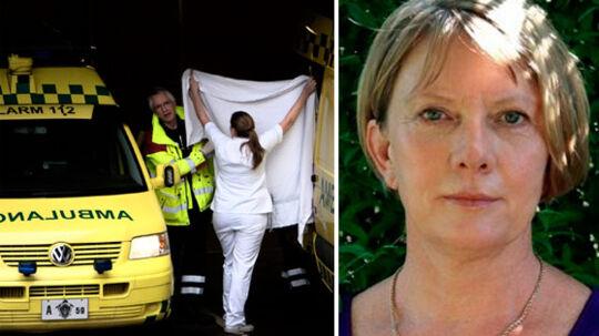 Bente M. Edslev har egen praksis, hvor hun modtager hjerneskadepatienter i behandling. Mange af dem er blevet tabt på gulvet i forhold til de kommunale tilbud, ifølge psykologen.