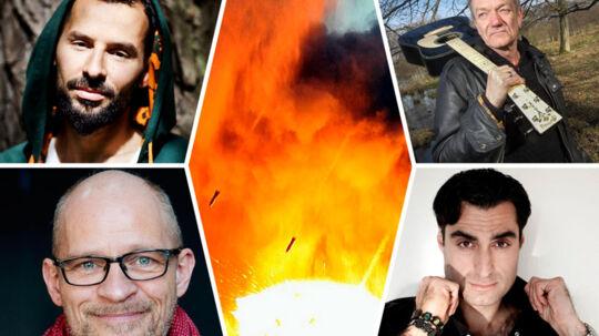 Mens bomberne falder over Gaza og Israel, vælger flere danske kendisser som Jooks, Lars Lilholt, Farshad Kholgi, Iben Hjejle, Søren Espersen, Lars Bom, Isam B og Omar Marzouk. side i debatten. De har blandede oplevelser med det. Ikke alle mener, at det er en god idé. Her er det Isam B, Lars Lilholt, Lars Bom og Harshad Kholgi.