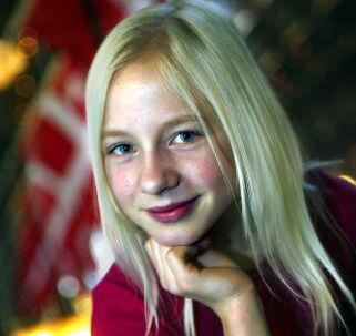 12-årige Pernille Kaae Høier har fået stjernestatus med sin rolle som Josefine. Foto: Jørgen Jessen