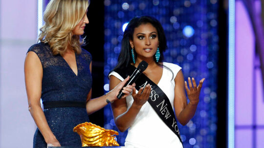 Miss New York, 25-årige Nina Davuluri, blev kåret som Miss America i september 2013.