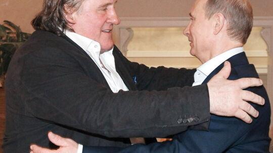 Nu kan Gerard Depardieu fremover kalde sig russisk statsborger