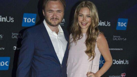 Dan Jørgensen med sin nu tidligere kæreste Sofie Jagert. Fødevareministeriet bekræfter, at de to er gået fra hinanden.