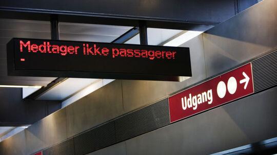 Oplysninger til brugerne af metroen i forbindelse med indvielsen af den nye linie til Kastrup Lufthavn. Medtager ikke passagere.