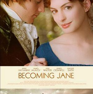 Anne Hathaway er nuttet som Jane Austen.