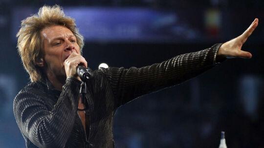 Den amerikanske rock-ikon Jon Bon Jovi bliver løjet død online (arkivfoto).