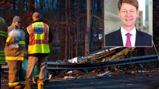 Direktøren fra investeringsbanken Greenhill og Co. er omkommet i en flyulykke i New Jersey