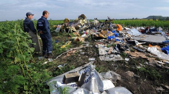 Vragrester fra MH17