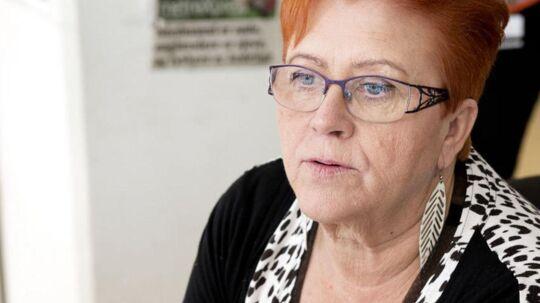 Værtshusejer af Cafe Viking, Jane Pedersen, ville ikke have besøg af Pia Kjærsgaard.