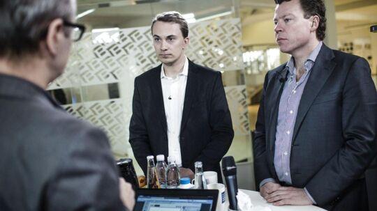 Morten Messerscmidt og Morten Helveg Petersen chatter med BTs læsere.