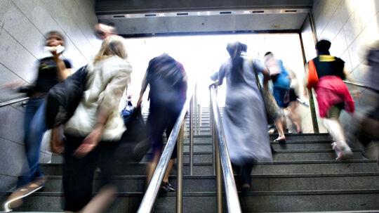 To teenagedrenge på 18 og 16 år er sigtet af politiet for at ringe til Metroselskabet i København med en bombetrussel (arkivfoto).