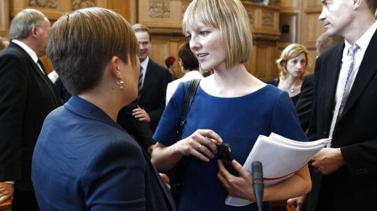 Ifølge Auken vil den nuværende sundhedsminister blive en god leder for SF. Astrid Krags resultater taler sit tydelig sprog, påpeger hun.