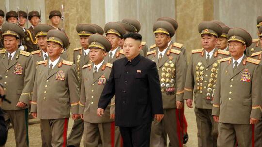 31-årige Kim Jong-un har været Nordkoreas øverste leder siden faderen Kim Jong-il døde i 2011.