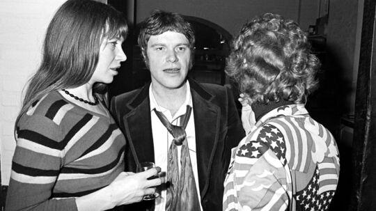 Kim Larsen med nu afdøde Hanne Qvist, som Larsen døbte 'Kranen'. Her sammen med Franz Beckerleei Gasolins sidste dage. Midt under en turne i 1994 med bandet Bellstar, afbrød Larsen deres forhold efter 23 år.