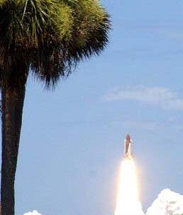 """""""Discovery"""" skal blive en ekstra dag i rummet. Foto: AFP"""