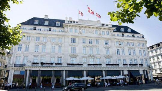 Hotel D'angleterre i København.