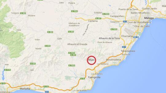 Danskeren mistede livet i en trafikulykke i Mijas-Costa tæt ved Malaga i Spanien.
