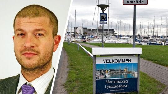 Det er ikke i orden, at Skat fisker efter oplysninger om bådpladsejere i lystbådehavne for at finde skattesnydere, vurderer Thomas Rønfeldt, Aalborg Universitet, ( tv.) og Jan Pedersen, Aarhus Universitet.