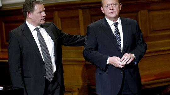 Efter ét år i opposition gør de Konservatives formand, Lars Barfoed, nu op med en af grundstenene i V-formand Lars Løkke Rasmussens politiske projekt.