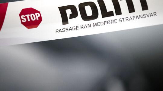 Arkiv: Politiafspærring