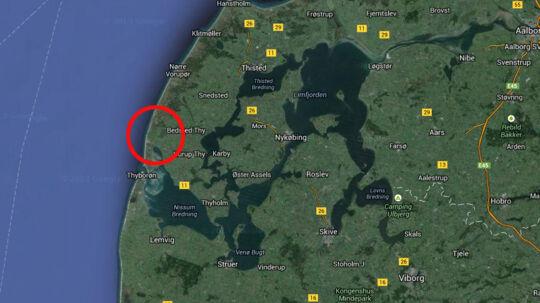 De to kvinder kørte i en dansk indregistreret VW Polo, som blev lejet i Aarhus 11. oktober. Bilen blev sent torsdag eftermiddag fundet efterladt nord for Agger i Thy.