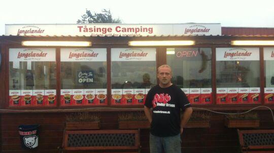 Per Brandt ejer Tåsinge Camping og Grill.