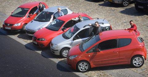 Elektronisk Stabilitets Program har hidtil været forbeholdt de dyrere vogne. Men nu har ESP fundet vej til markedets allerbilligste biler. Foto: Nils Mielvang