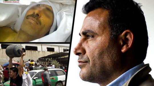 Naser Khaders fætter, Samer (tv) blev henrettet lørdag nat. Naser Khader har udleveret familiens billede af den dræbte fætter i ønske om, at sætte ansigt på den syriske borgerkrig ofre.