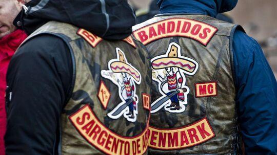 Bandidos-rockere ved Københavns Byret.