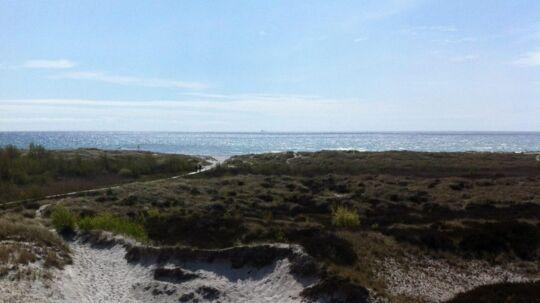 Dueodde strand.