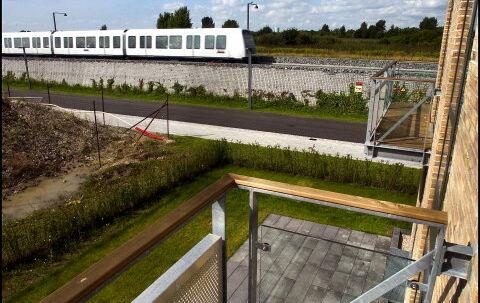 Metroen - bliver forbundet med bro-kvartererne. Foto: Morten Juhl