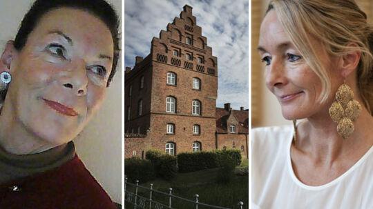 Christina Danneskjold-Samsøe (tv) og datteren Helene Danneskjold (th) taler ikke længere sammen.