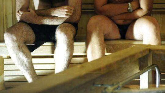 En tur i sauna endte onsdag tragisk for en 67-årig mand.