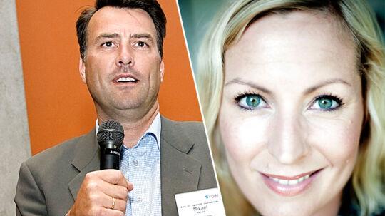 Årets bedste nyhedsværter blev Mikael Kamber og Cecilie Beck.