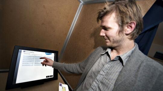 Aarhus gennemførte ved Folketingsvalget i 2011 et mindre forsøg med e-valg.