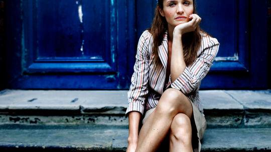 Model Helena Christensen.