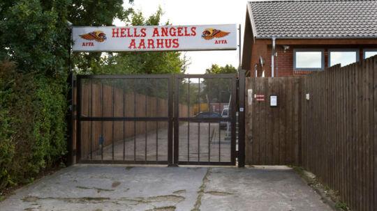 Staten ejer for 1,5 mio. kr.pantebreve i Hells Angels rockerborg iRisskov uden for Aarhus.
