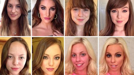 Makeup artisten Mellissa Murphy har over 50.000 følgere på Instagram og næsten lige så mange på Twitter. Og det er nok ikke en tilfældighed. Mellissa arbejder nemlig med alt fra pornoskuespillere til modeller og kendisser.  Hun mener ikke, at kvinder skal bruge makeup, men derimod mener hun, at sminken kan give selvtilliden et lille boost.  I øjeblikket hitter hendes før/efter-billeder helt enormt på de sociale medier, hvor helt almindelige kvinder vises frem med og uden makeup. De var naturligvis indforståede med at blive verdensomspændende hits.  Du kan følge Mellissa Murphy på Instagram under brugernavnet xmelissamakeupx.