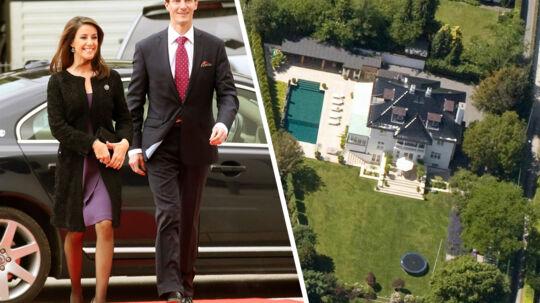 Prins Joachim fik kun lille nedslag i prisen for pragtbolig i Klampenborg