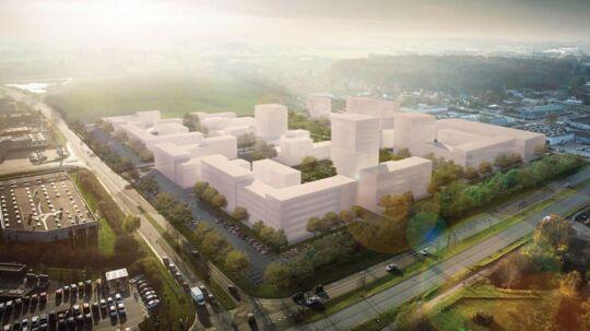 Milliardæren Mikael Goldschmidt opgiver at bygge Danmarks største storcenter i Hillerød.