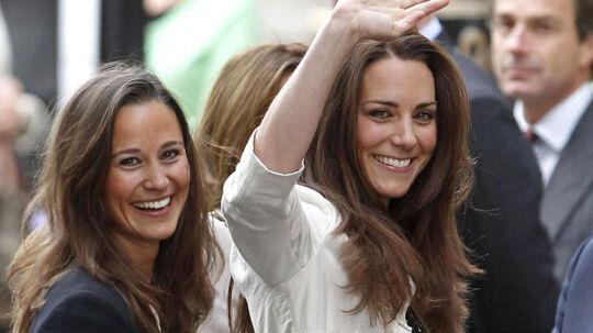 Kate Middleton sammen med sin søster Pippa (tv)