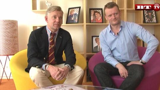 Casper og Frank fortæller om det nye show i dette interview, som du kan se på BT TV