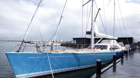 Der er store værdier i spil, når arven efter Mærsk Mc-Kinney Møller skal fordeles. Her ses afdøde Mærsk Mckinney Møllers nye båd, KLEM VIII, i Tuborg Havn (arkivfoto).
