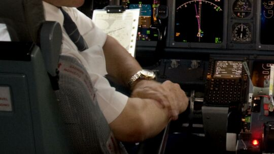 SAS vil ikke straffe piloten der tog sig en lur mens han var alene i cockpittet.