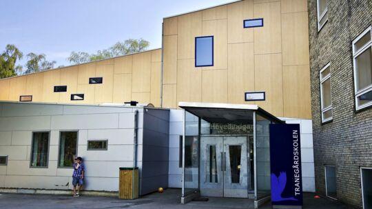 Tranegårdsskolen i Hellerup, hvor Prins Christian starter i 0. klasse d. 12. august.