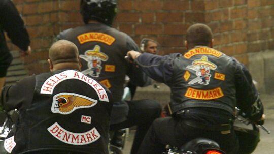 En ny rockerklub melder nu ud, at den intet udstående har med de to største - og nok mest kendte - motorcykelklubber i Danmark, Hells Angels og Bandidos (arkivfoto).